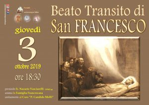 Transito San Francesco2019