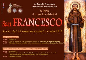 Novena San Francesco 2019